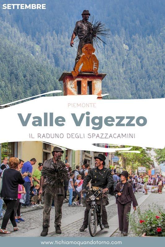 Valle Vigezzo: raduno degli Spazzacamini