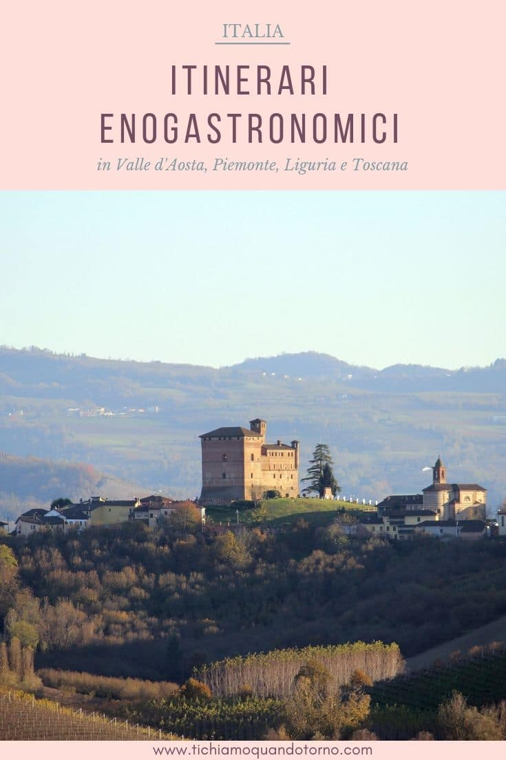 Itinerari enogastronomici in Italia