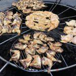 Polli al Ristorante El Diablo nel Parco del Timanfaya