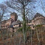 Esterno di Haut Koenigsbourg in Alsazia