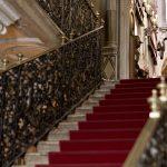 L'ingresso al piano nobile del Museo Bagatti Valsecchi