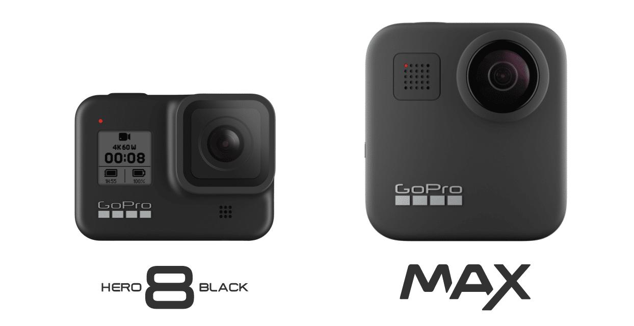 GoPro Hero 8 e Max