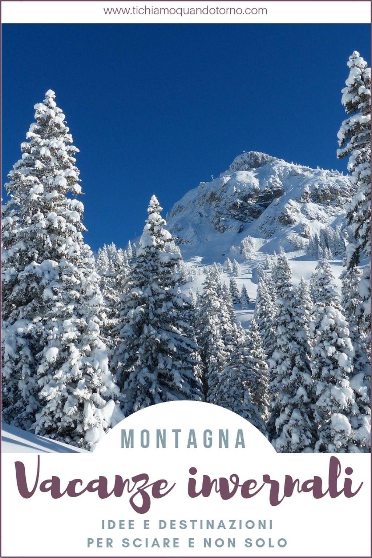 Le vacanze in montagna sono l'ideale per chi ama la natura, stare all'aria aperta e fare attività fisica. Lo sci è lo sport invernale per eccellenza ma le possibilità sono infinite. Ecco 4 località dove trascorrere delle vacanze invernali indimenticabili, per sciatori e non solo.  #vacanze #montagna #inverno #sciare #neve #vanzesullaneve #vacanzedinatale