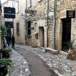 Le case e strade in pietra di Saint Paul De Vence