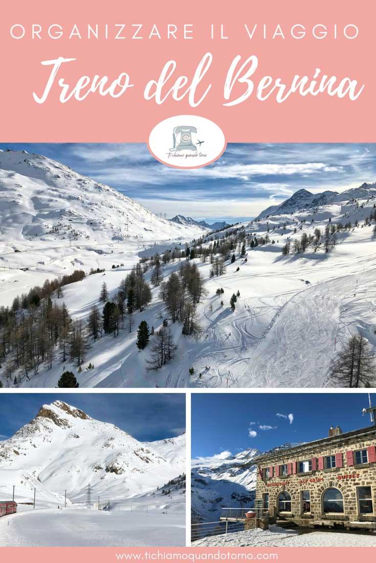 Organizzare un viaggio sul treno del Bernina
