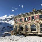 La stazione-albergo dell'Alp Grüm