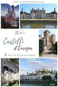 Castelli da visitare in Europa
