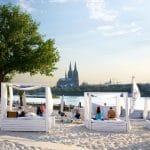 Colonia insolita: la spiaggia km 689 Cologne Beach Club