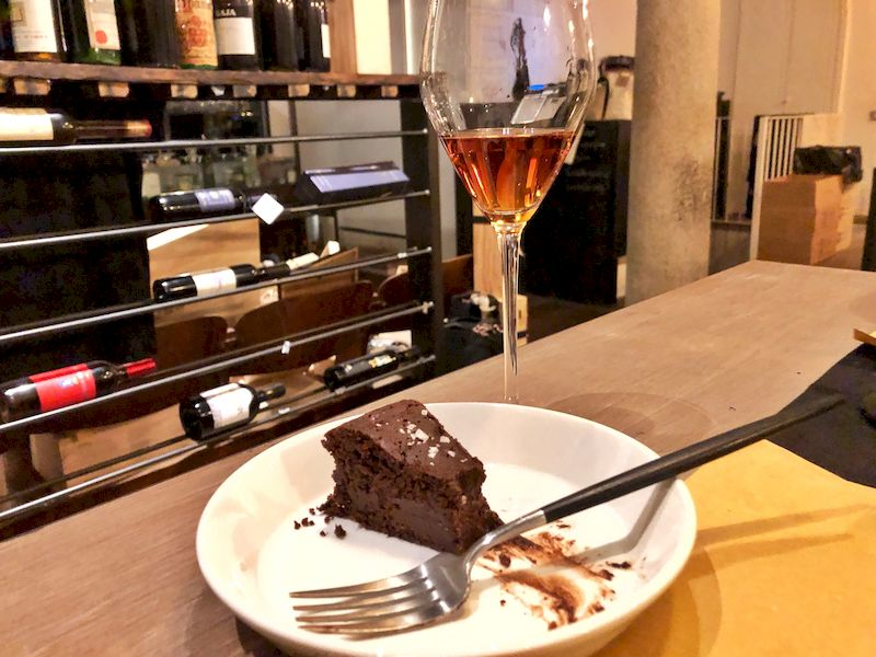 dessert enoteca Infernot Pavia