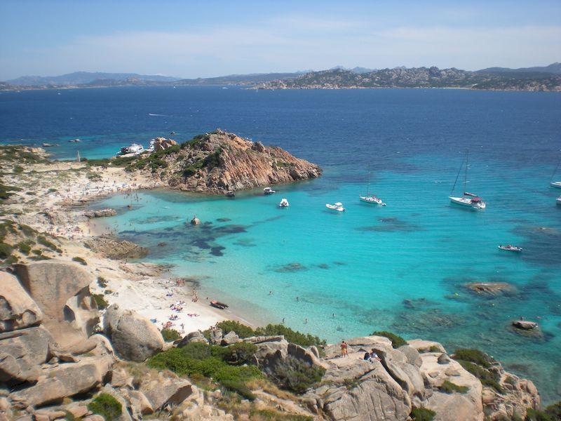Vacanze al mare in Italia: Spargi in Sardegna