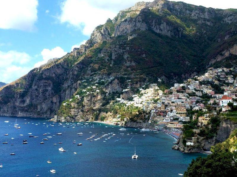 Vacanze al mare in italia: Positano e la Costiera Amalfitana