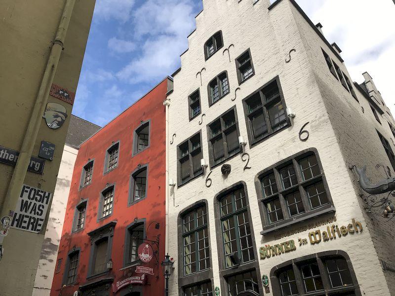 Edifici d'epoca a Colonia