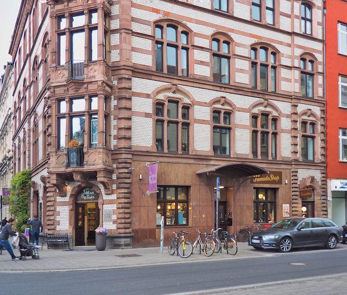 Palazzo nel quartiere belga di Colonia