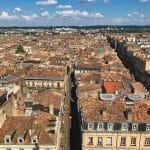 Bordeaux vista dalla Tour Pey Belard