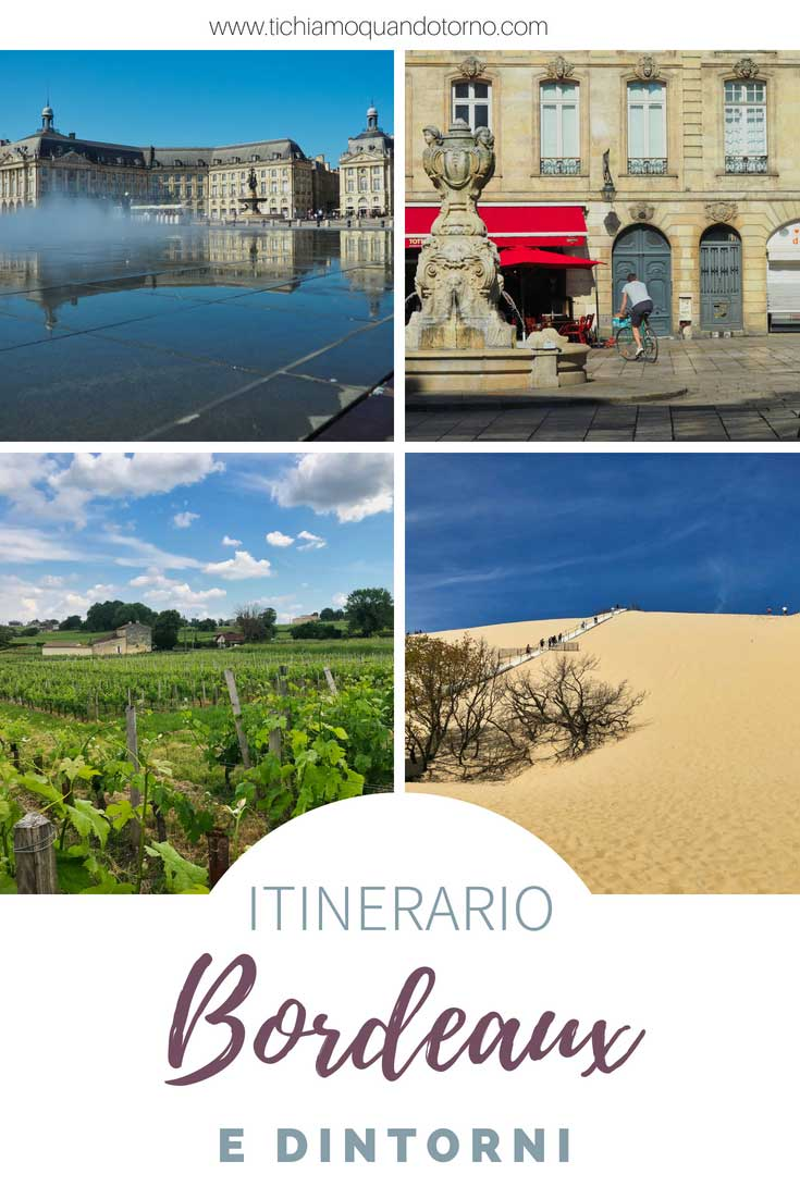 Un itinerario a Bordeaux e dintorni: 5 giorni alla scoperta della capitale di uno dei vini più famosi al mondo e di Saint Émilion, un borgo pittoresco centro di una delle zone di maggior produzione vinicola. E per finire un salto alla spettacolare Dune du Pilat.  #bordeaux #francia #acquitania #vino #itinerari #saintemilion #dunedupilat #viaggiontheroad #itinerarienogastronomici #cosafareabordeaux #ideediviaggio #consiglidiviaggio #viaggiare #travel #traveltips