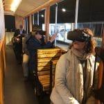 La realtà virtuale al TimeRide di Colonia