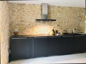 La cucina del B&B Chez Henri