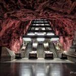 Metropolitana di Stoccolma: la fermata di Rådhuset