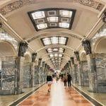 Metropolitana di San Pietroburgo: la fermata di Kirovsky Zavod