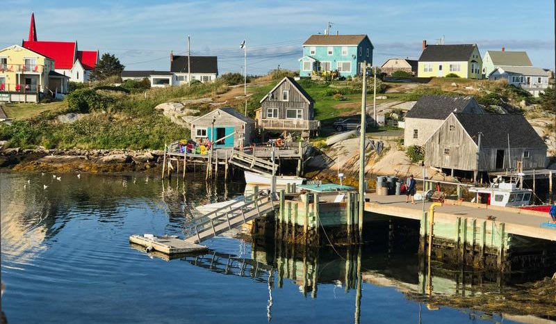 Il villaggio di Peggy's Cove