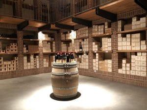 La collezione di vini dei Poderi Einaudi