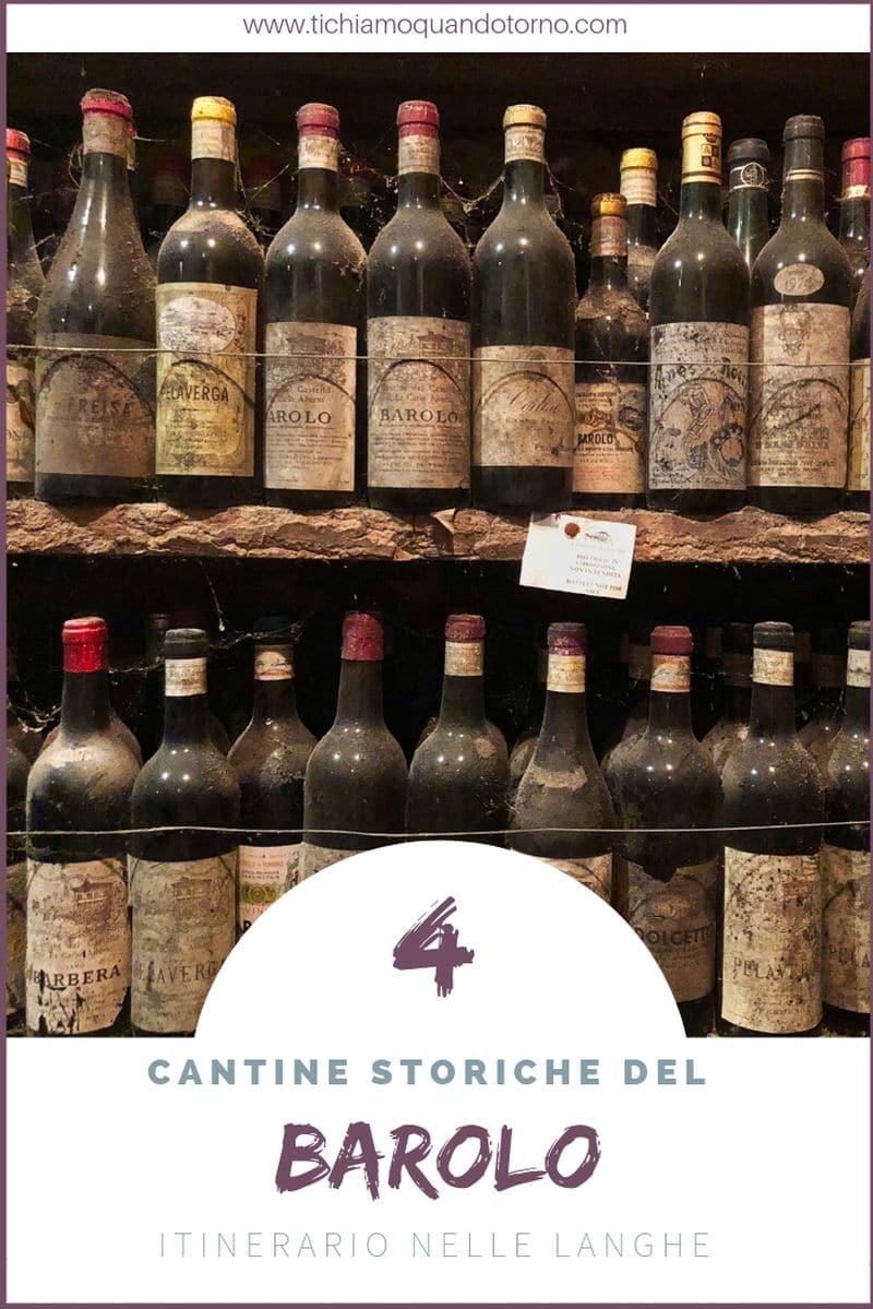 4 cantine storiche del Barolo per degustare ottimi vini e per compiere un viaggio nella storia del vino che il mondo intero ci invidia.  #langhe #barolo #unesco #cantine #winetour #italia #piemonte #vinorosso #itinerari #weekend #marchesidibarolo #poderieinaudi #castellodiverduno #fontanafredda