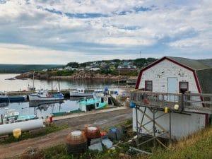 Il pittoresco villaggio di Neils Harbour