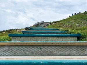 La storia scritta sui gradini dello Skyline Trail