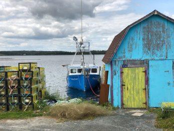 La costa risalente Halifax