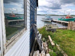 Villaggio di pescatori sulla Eastern Shore