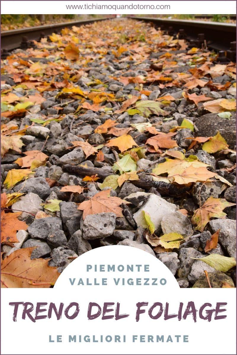 Valle Vigezzo: il Treno del foliage