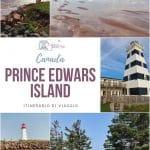 Prince Edward Island itinerario di viaggio