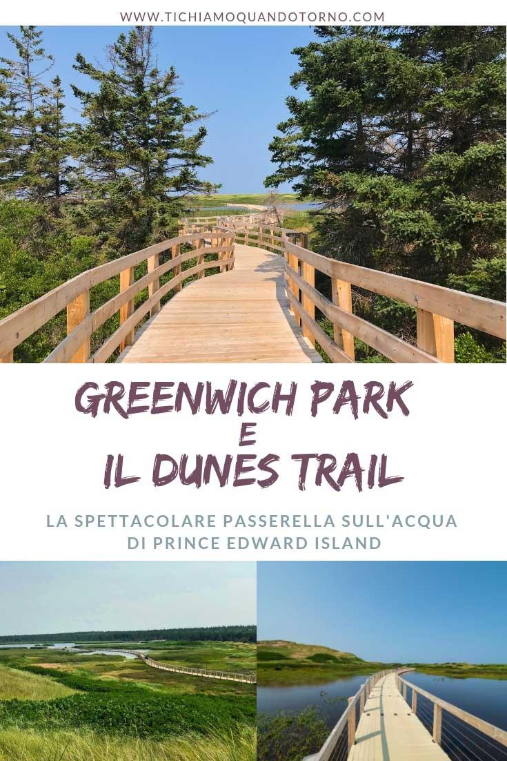 Greenwich Park e il Dunes trail