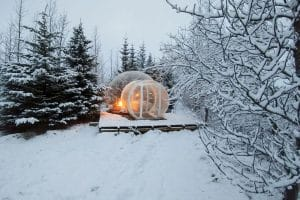 Glamping sotto le stelle in Islanda!