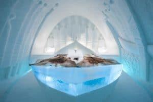Dormire all'Ice Hotel in Svezia