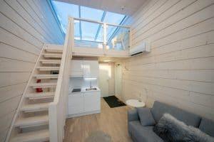 I mini loft del Seaside Glass Villas