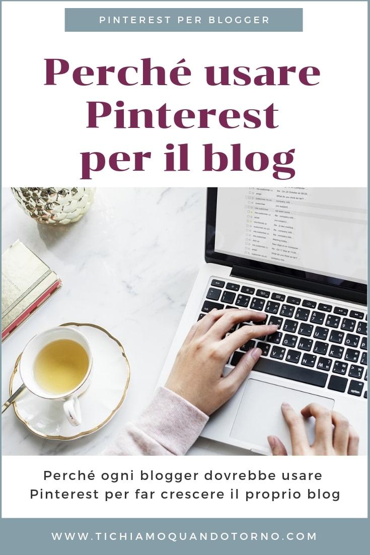 Ecco 6 ottimi motivi per cui ogni blogger dovrebbe cominciare a utilizzare Pinterest da subito per far crescere il proprio blog.  #pinterest #marketing #blogging