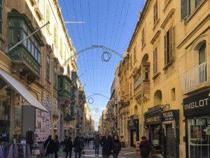 Republic Street: la via che attraversa Valletta