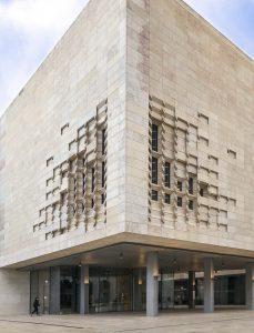 Il nuovo palazzo del Parlamento a Valletta