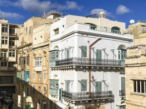 Scorci sui palazzi di Valletta