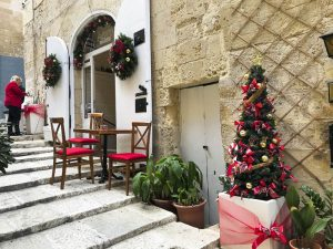 Decorazioni natalizie a Valletta
