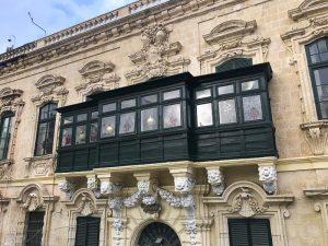 Un palazzo sulla Piazza San Giorgio