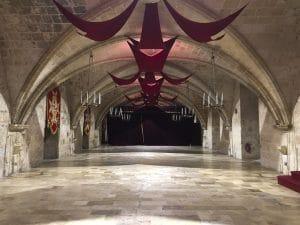 La sala della Sacra Infermeria