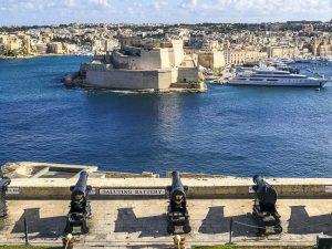 Vista su Vittoriosa e Fort St. Angelo