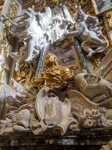 Particolare della Co-Cattedrale di San Giovanni a Valletta