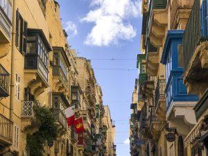 I balconi colorati di Valletta