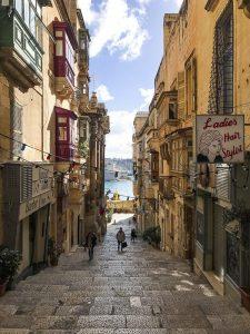 Le strade colorate di Valletta