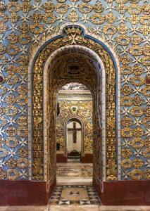 La teoria di cappelle nella Co-Cattedrale di San Giovanni a Valletta