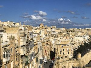 Vista su Valletta