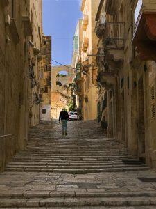 Cosa vedere a Valletta: vicoli e strade